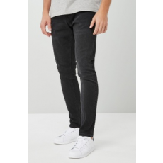 Next , Skinny fit farmernadrág, Fekete, 34XL (591479-BLACK-34XL)