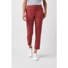 Next , Slim fit crop nadrág, Korall, 14R (528084-RED-14R)