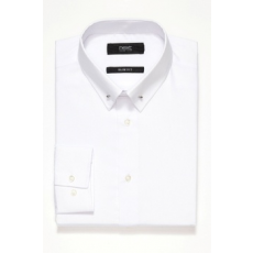 Next , Slim fit ing gallértűvel, Fehér, 16 (761931-WHITE-16)