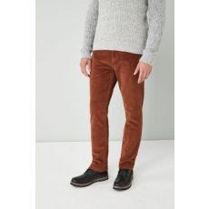 Next , Slim fit kordbársony nadrág, Fahéjbarna, 32R (551001-BROWN-32R)