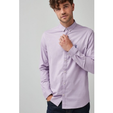 Next , Slim Fit oxford ing, Lila, XXL (588728-PURPLE-XXL)