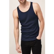 Next , Slim Fit Top, Sötétkék, XXL (585064-BLUE-XXL)