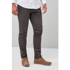 Next , Straight fit chino nadrág, Drapp, 38S (586563-GREY-38S)