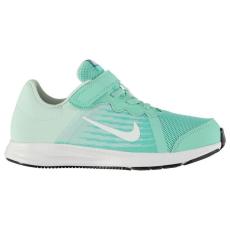 Nike gyerek sportcipő - Nike Downshifter 8 Trainers Girls Green White
