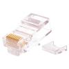 Nikomax UTP Csatlakozó Átlátszó 3cm NMC-RJ88RZ50UD2-100