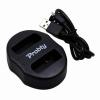 Nikon EN-EL14 akku/akkumulátor duál USB adapter/töltő utángyártott
