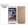 Nillkin Apple iPhone 6/6S szilikon hátlap - Nillkin Nature - aranybarna