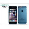 Nillkin Apple iPhone 6/6S szilikon hátlap - Nillkin Nature - kék