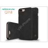 Nillkin Apple iPhone 7 Plus/iPhone 8 Plus oldalra nyíló flipes tok - Nillkin Qin - fekete