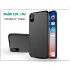 Nillkin Apple iPhone X hátlap - Nillkin Synthetic Fiber - fekete