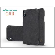 Nillkin Apple iPhone X oldalra nyíló flipes tok - Nillkin Qin - fekete tok és táska