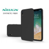 Nillkin Apple iPhone XR hátlap - Nillkin Synthetic Fiber - fekete