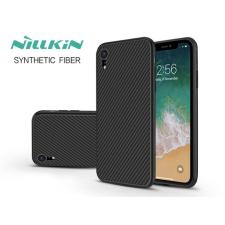 Nillkin Apple iPhone XR hátlap - Nillkin Synthetic Fiber - fekete tok és táska