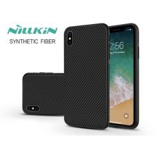 Nillkin Apple iPhone XS Max hátlap - Nillkin Synthetic Fiber - fekete tok és táska