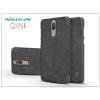Nillkin Huawei Mate 10 Lite oldalra nyíló flipes tok - Nillkin Qin - fekete