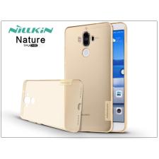 Nillkin Huawei Mate 9 szilikon hátlap - Nillkin Nature - aranybarna tok és táska