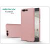 Nillkin Huawei P10 Plus hátlap képernyővédő fóliával - Nillkin Frosted Shield - rose gold