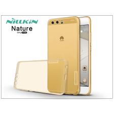 Nillkin Huawei P10 szilikon hátlap - Nillkin Nature - aranybarna tok és táska