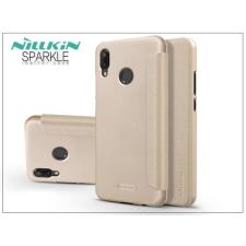 Nillkin Huawei P20 Lite oldalra nyíló flipes tok - Nillkin Sparkle - gold tok és táska