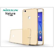 Nillkin Huawei P9 Lite (2017) szilikon hátlap - Nillkin Nature - aranybarna tok és táska