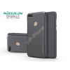 Nillkin Huawei Y7 (2018)/Huawei Y7 Prime (2018) oldalra nyíló flipes tok - Nillkin Sparkle - fekete