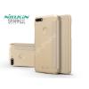 Nillkin Huawei Y7 (2018)/Huawei Y7 Prime (2018) oldalra nyíló flipes tok - Nillkin Sparkle - gold