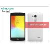 Nillkin LG D290N L Fino hátlap képernyővédő fóliával - Nillkin Frosted Shield - fehér