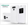 Nillkin LG G6 H870 oldalra nyíló flipes tok - Nillkin Sparkle - fehér