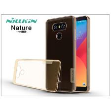 Nillkin LG G6 H870 szilikon hátlap - Nillkin Nature - aranybarna tok és táska