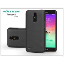 Nillkin LG K10 M250N (2017) hátlap képernyővédő fóliával - Nillkin Frosted Shield - fekete tok és táska