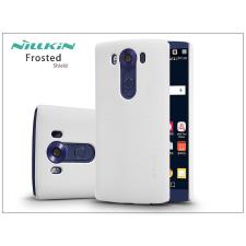 Nillkin LG V10 H960A hátlap képernyővédő fóliával - Nillkin Frosted Shield - fehér tok és táska