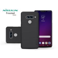 Nillkin LG V40 ThinQ V405 hátlap - Nillkin Frosted Shield - fekete tok és táska