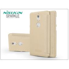 Nillkin Nokia 7 oldalra nyíló flipes tok - Nillkin Sparkle - gold tok és táska