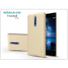 Nillkin Nokia 8 hátlap képernyővédő fóliával - Nillkin Frosted Shield - gold