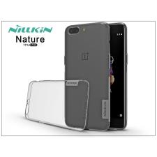 Nillkin OnePlus 5 (A5000) szilikon hátlap - Nillkin Nature - szürke tok és táska