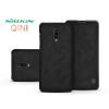 Nillkin OnePlus 6T oldalra nyíló flipes tok - Nillkin Qin - fekete