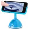 Nillkin Rotating Color 2 360°-ban elforgatható tapadókorongos autós tartó Apple iPhone 5, 5S kék*