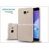 Nillkin Samsung A510F Galaxy A5 (2016) hátlap képernyővédő fóliával - Nillkin Frosted Shield - golden