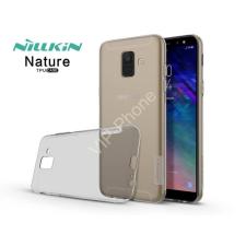 Nillkin Samsung A600F Galaxy A6 (2018) szilikon hátlap - Nillkin Nature - szürke tok és táska