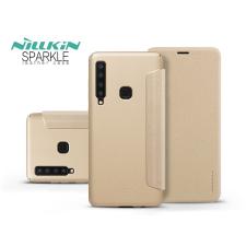 Nillkin Samsung A920F Galaxy A9 (2018) oldalra nyíló flipes tok - Nillkin Sparkle - gold tok és táska