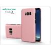 Nillkin Samsung G955F Galaxy S8 Plus hátlap képernyővédő fóliával - Nillkin Frosted Shield - rose gold