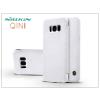 Nillkin Samsung G955F Galaxy S8 Plus oldalra nyíló flipes tok - Nillkin Qin - fehér