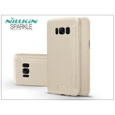Nillkin Samsung G955F Galaxy S8 Plus oldalra nyíló flipes tok - Nillkin Sparkle - gold tok és táska