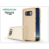 Nillkin Samsung G955F Galaxy S8 Plus szilikon hátlap - Nillkin Nature - aranybarna