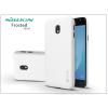 Nillkin Samsung J330F Galaxy J3 (2017) hátlap képernyővédő fóliával - Nillkin Frosted Shield - fehér