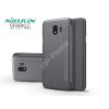Nillkin Samsung J400F Galaxy J4 (2018) oldalra nyíló flipes tok - Nillkin Sparkle - fekete