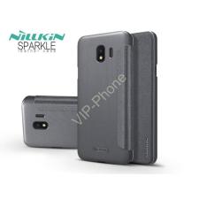 Nillkin Samsung J400F Galaxy J4 (2018) oldalra nyíló flipes tok - Nillkin Sparkle - fekete tok és táska