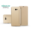 Nillkin Samsung J415F Galaxy J4 Plus oldalra nyíló flipes tok - Nillkin Sparkle - gold
