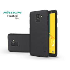Nillkin Samsung J600F Galaxy J6 (2018) hátlap képernyővédő fóliával - Nillkin Frosted Shield - fekete tok és táska