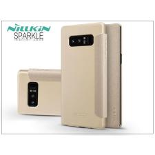 Nillkin Samsung N950F Galaxy Note 8 oldalra nyíló flipes tok - Nillkin Sparkle - gold tok és táska